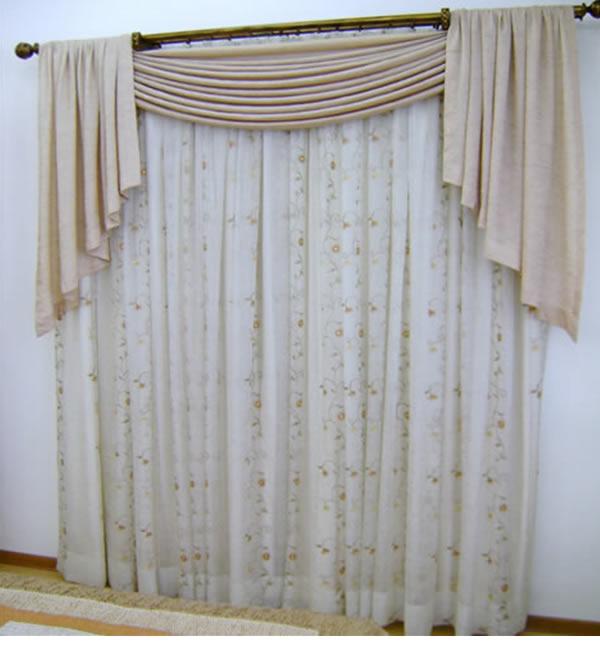 Nova tend ncia cortinas for Tipos de ganchos para cortinas